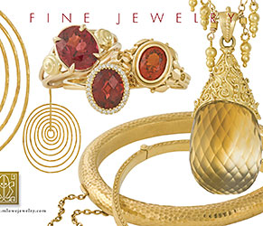 Color postcard for jewelry store
