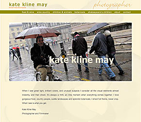 Kate Kline May home page