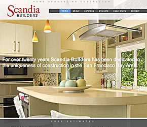 Scandia Builders home page